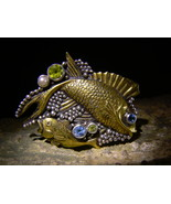 PUSHKIN'S GOLDEN FISH QUEEN MYSTICAL RUSSIAN SPIRIT exclusive by izida haunted - $777.00
