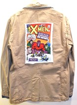 ZARA Men's Khaki Blazer- X-MEN Print - $28.04