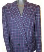 Authentic Classic Celine Made In Paris Tweed Women's Blazer Size 42 - $37.04
