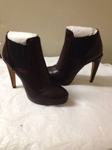 Womens Burgundy Sam Edelman Ankle Boots Size 8 New - $59.39