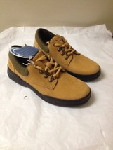 Boys Wheat Nubuk Timberland Oxfords Size 2.5 New - $29.69