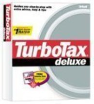 TurboTax Deluxe 2002 [CD-ROM] Windows 98 / Windows 2000 / Windows Me / W... - $61.06