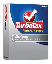 TurboTax Deluxe Federal + State 2007 [OLD VERSION] [CD-ROM] Windows XP /... - $6.38