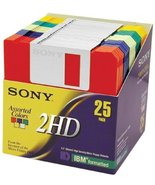 "Sony 2HD 3.5"" IBM Formatted Floppy Disks (25-Pack) (Discontinued by Manu... - $98.99"