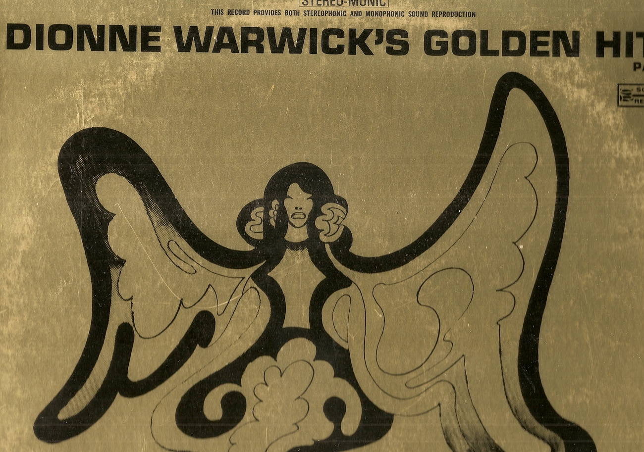 LP--Dionne Warwick -Golden Hits - Part TWO