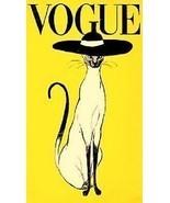 Vogue Cat Ad Magnet - $4.99