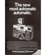 1971 Kodak Instamatic X-90 Camera vintage print ad - $10.00