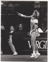 Chris Evert Vintage 8X10 BW Tennis Memorabilia Photo - $6.99