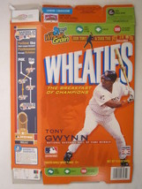 Empty Wheaties Box 2007 15.6oz Tony Gwynn [Z202e5] - $5.58