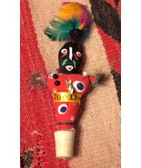 Voodoo Voo Doo Doll Cork Stopper and or Magnet  - $5.00