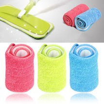 PREUP 3 Colors Replacement Microfiber mop Washable Mop head Mop Pads Fit... - $5.93