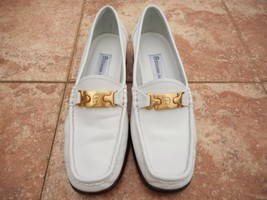 Pre-Owned, Gorgeous, Etienne Aigner, White,Ladies 5.5(M), Catalina Loafe... - $34.99