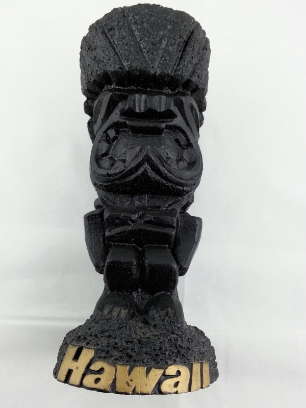 Primary image for Vintage Ku Figurine  by Poly Art - Hand Made from Lava !!!