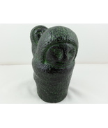 Innuit Woman with Child on Back Stone Scuplture -Hand Crafted-By Wolf Sc... - $49.00