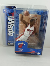 Mc Farlane Action Figure - Dwayne Wade - NBA Series 12 - In White Jersey... - $49.00