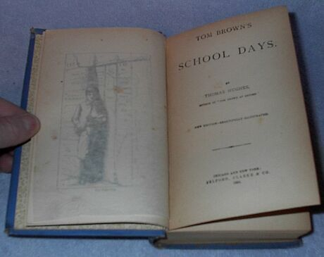 Tom Brown's School Days Tom Hughes 1894 Fiction Young Adult book