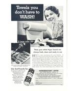 1935 ScotTowels Rolls Paper Towels print ad - $10.00