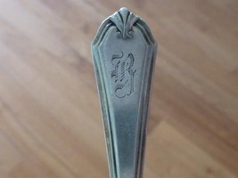 1910 Art Deco SHIRLEY International Sterling Silver PICKLE OLIVE FORK 5.... - $29.99