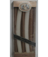 """Natural Beeswax 12"""" Taper Candles Handmade Honeycomb Unscented Off White - $8.42"""