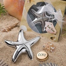 Starfish Bottle Opener Wedding Favors Bridal Shower Gift Beach Summer Ba... - $3.16