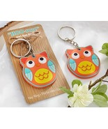 """""""HOO-ray!"""" Owl Key Chain Baby Bridal Shower Wedding Favor Gift Party Rec... - $2.98"""