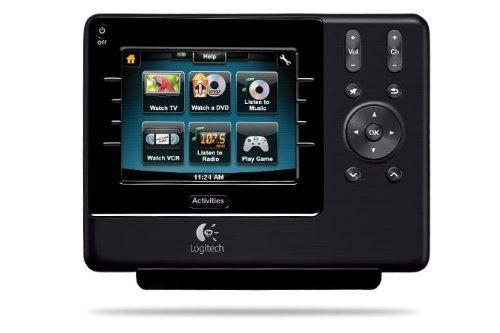 Logitech Harmony 1100 Universal Remote with Color Touch Screen (Discontinued ...