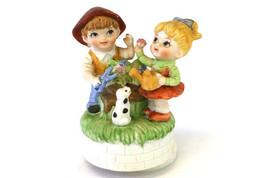 Albert E. Price Products Children Gardening Ceramic Rotating Musical Fig... - $8.47