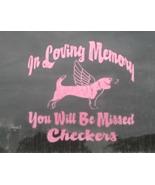In Loving Memory Memorial Vinyl Graphic Sticker... - $8.50
