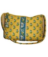 VERA BRADLEY NEW hand bag small purse yellow bl... - $10.00