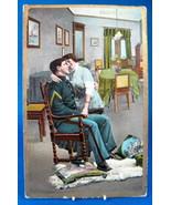 Postcard Prayer Thanks Man Home From War Uniform 1910 Virginia - $18.00