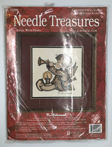 Needle Treasures M J Hummel Angel with Horn Counted Cross Stitch 02954 New USA - $20.56