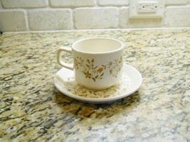 Lenox China Temper-ware Merriment Cup and Saucer Set - $2.96