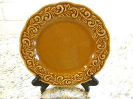 "Certified International Venetian AMBER GOLD 9 1/4"" Salad PlateS SET OF 4 - $23.56"