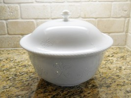"Lenox China Swedish Lodge 11 1/4"" X 5"" Covered Casserole 4 quart - $62.36"