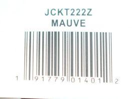 Simply Noelle Brand JCKT222Z Womens Mauve Zippered Sweater Jacket Size XXL image 9