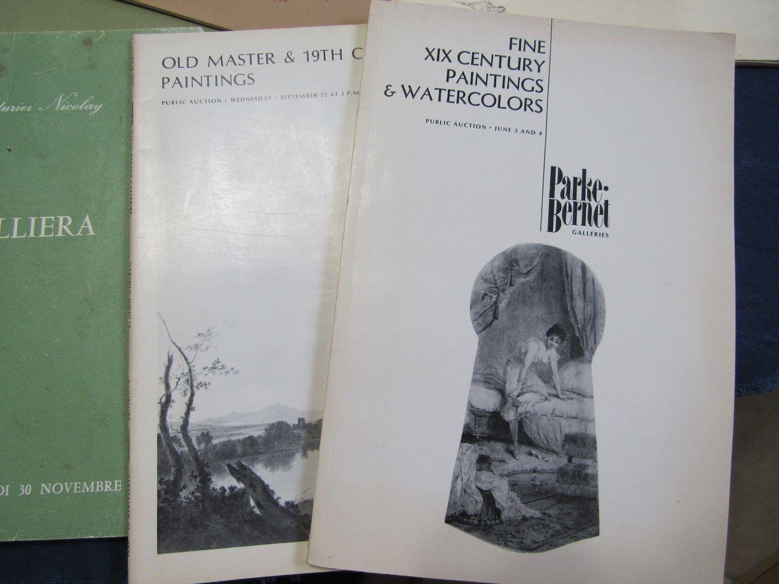 Art Auction Catalogs Parke Bernet Palais Galliera Christie's Bernard Danenberg