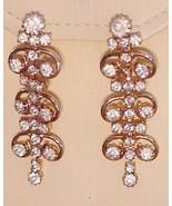 RUNWAY SARAH COVENTRY Vintage DAZZLING Earrings... - $74.25