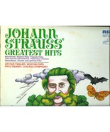 JOHANN  STRAUSS  GREATEST HITS - ARTHUR FIEDLER * FRITZ REINER * CHICAGO... - $2.99
