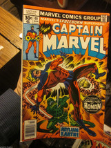 Captain Marvel #49 Marvel Comics 1977 VF range or better RONAN the Accuser - $13.86