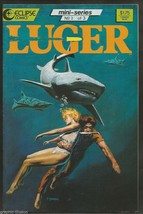 LUGER #3 Eclipse Comics see cover YEATES 1987  BC RAYZone. Full Color Bo Hampton - $7.99