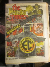 The Monster Times Vol. 1 #2 Star Trek G- & Vol 1 #10 EC COMICS Fine+ or ... - $55.00