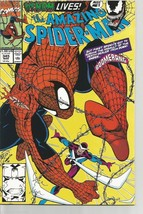 Amazing Spider-man #345 Marvel Comics 1st series & print Bagley NM/M 1991 - $24.99