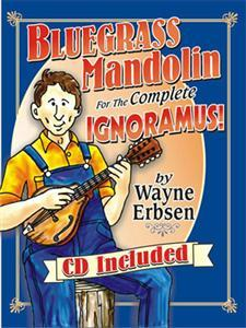 Primary image for Bluegrass Mandolin For The Complete Ignoramous Book/CD Set/Spiral Bound