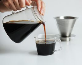 700 ml Carat Coffee Dripper and Pot with Lid by Kinto image 8