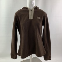 The North Face TKA Brown Micro Pullover Hoodie Fleece / Women's Medium - $18.95