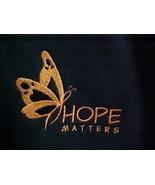 Hope Matters Melanoma Orange Butterfly Black Hoodie Sweatshirt Unisex 3X... - $36.45
