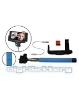 BLUE 2in1 Selfie Monopod Holder with BUILT-IN Bluetooth Shutter for Smar... - $13.75