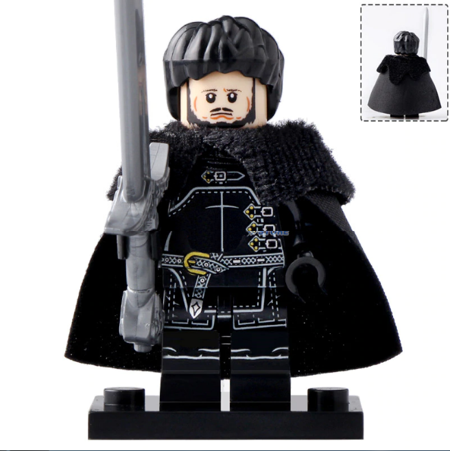 Samwell Tarly Sam Game of Thrones (season 8) Lego Minifigures Block Toy Gifts