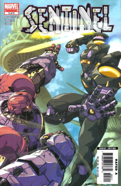 SENTINEL #3 (Marvel, 2006 Series) NM!