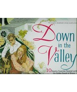 DOWN  IN  THE  VALLEY  - 10 COUNTRY FAVORITES  LONGINES SYMPHONETTE   LP - $3.00